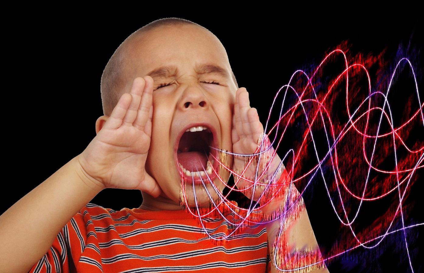 computer virus sound waves