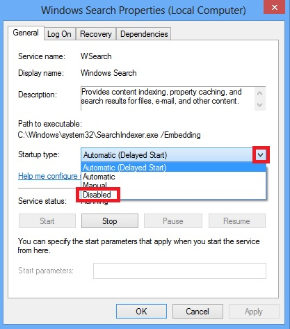 stop-windows-search-service-disable