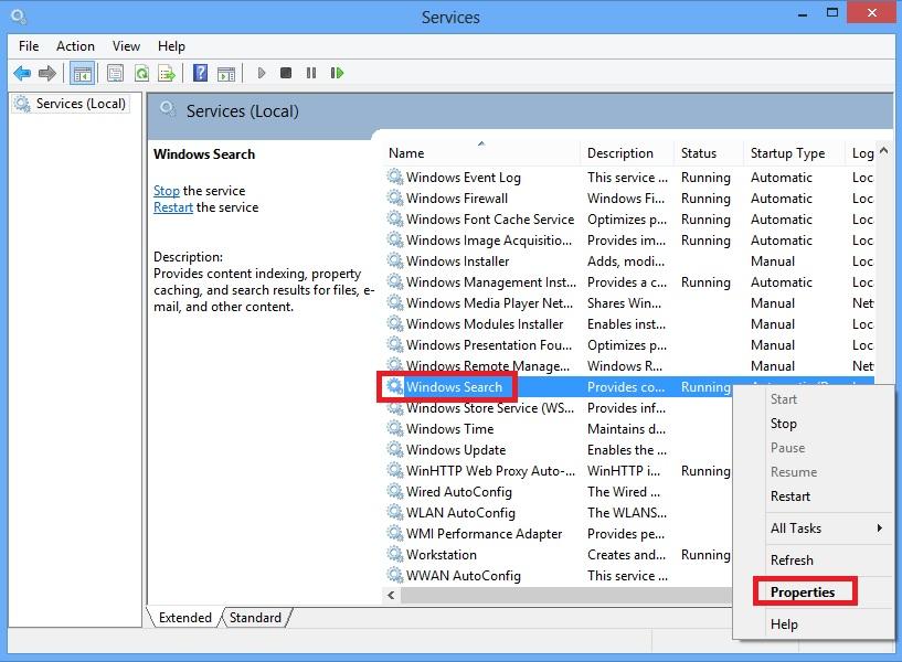 stop-windows-search-service