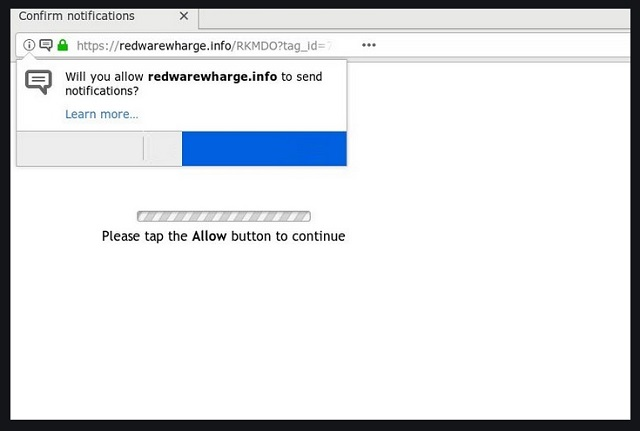 Remove Redwarewharge.info